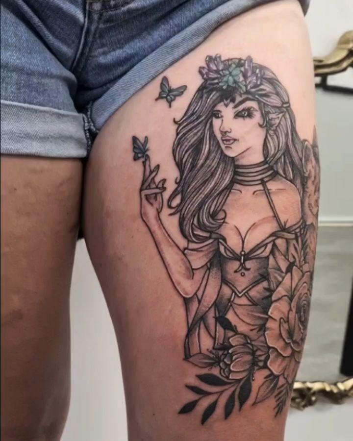 tatuagem de borboleta 211