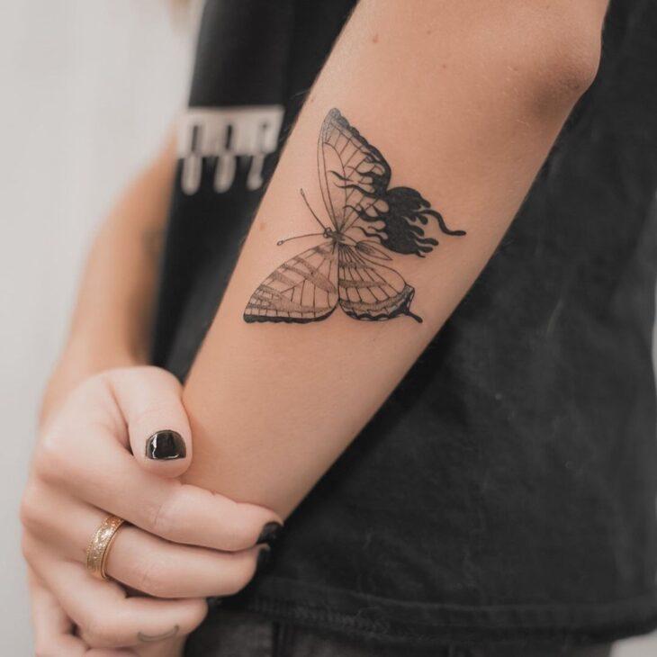 tatuagem de borboleta 26