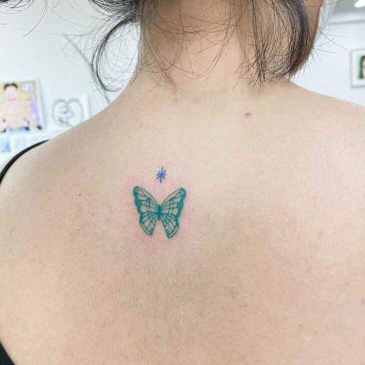 tatuagem de borboleta 34
