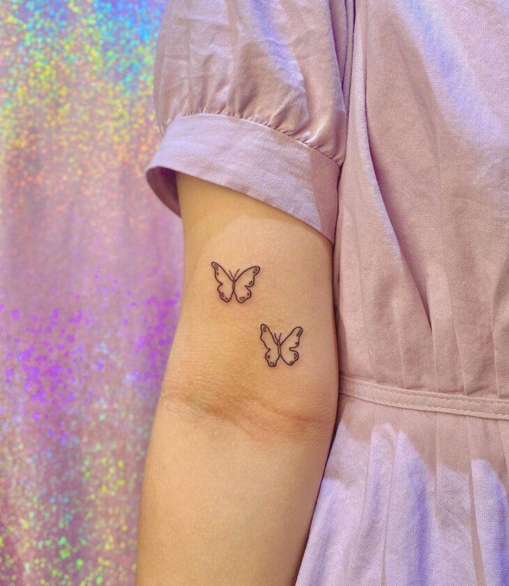 tatuagem de borboleta 35