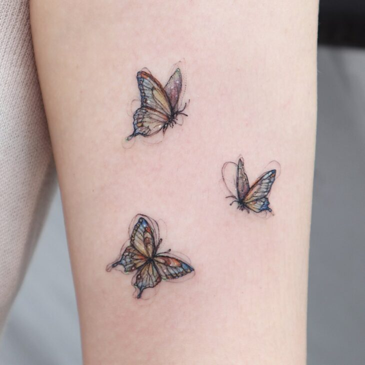 tatuagem de borboleta 36