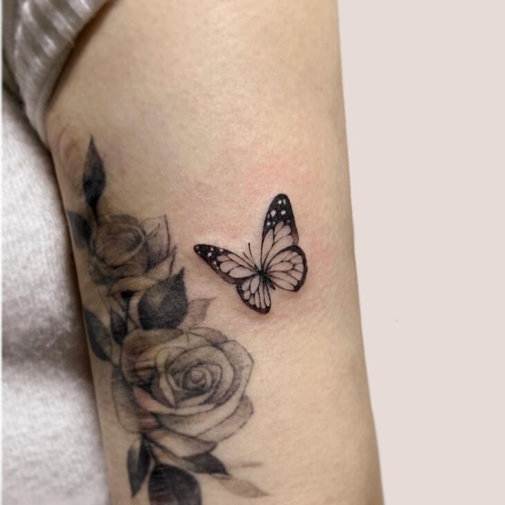 tatuagem de borboleta 37