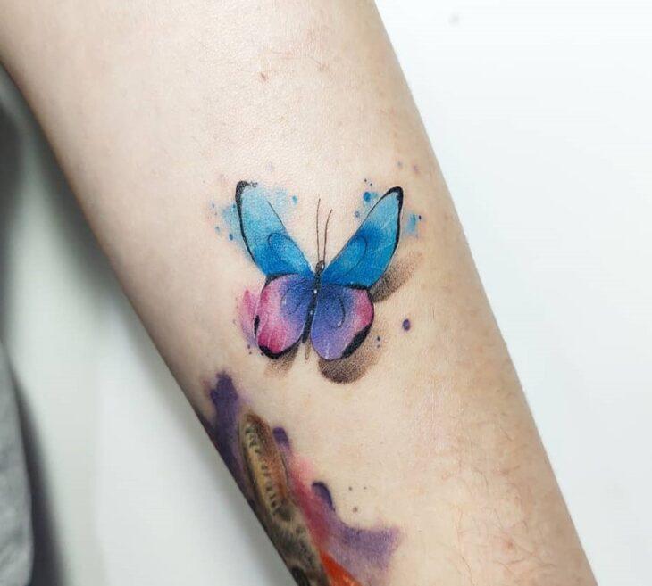 tatuagem de borboleta 40
