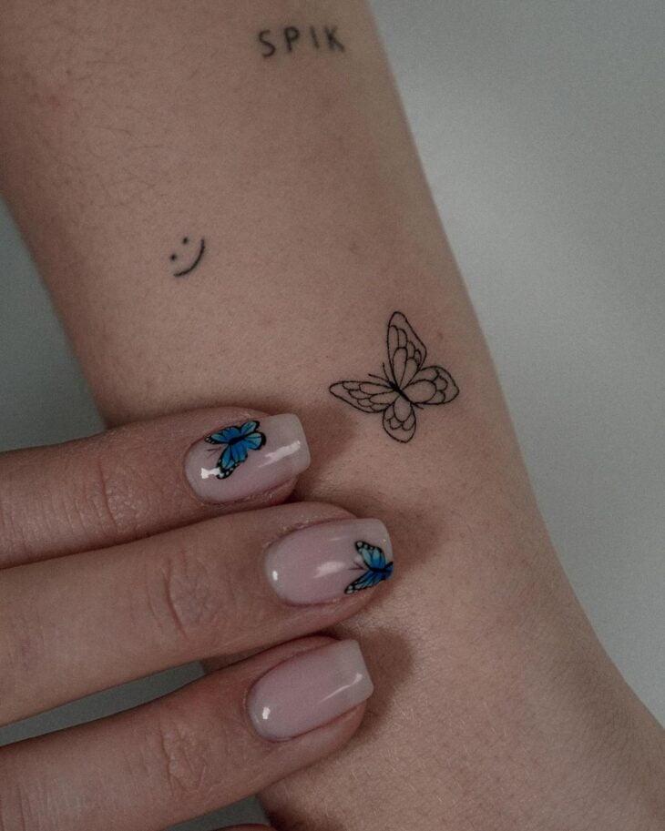 tatuagem de borboleta 55