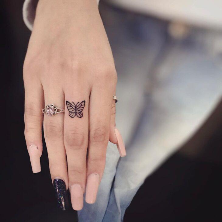 tatuagem de borboleta 57