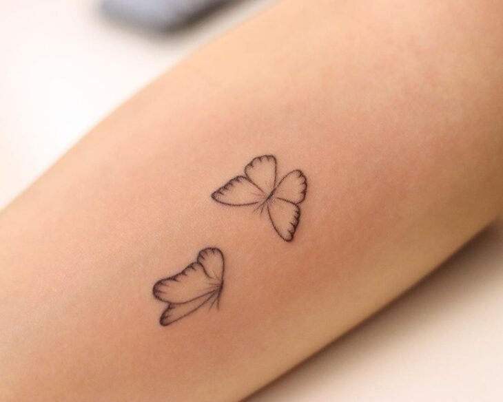tatuagem de borboleta 61