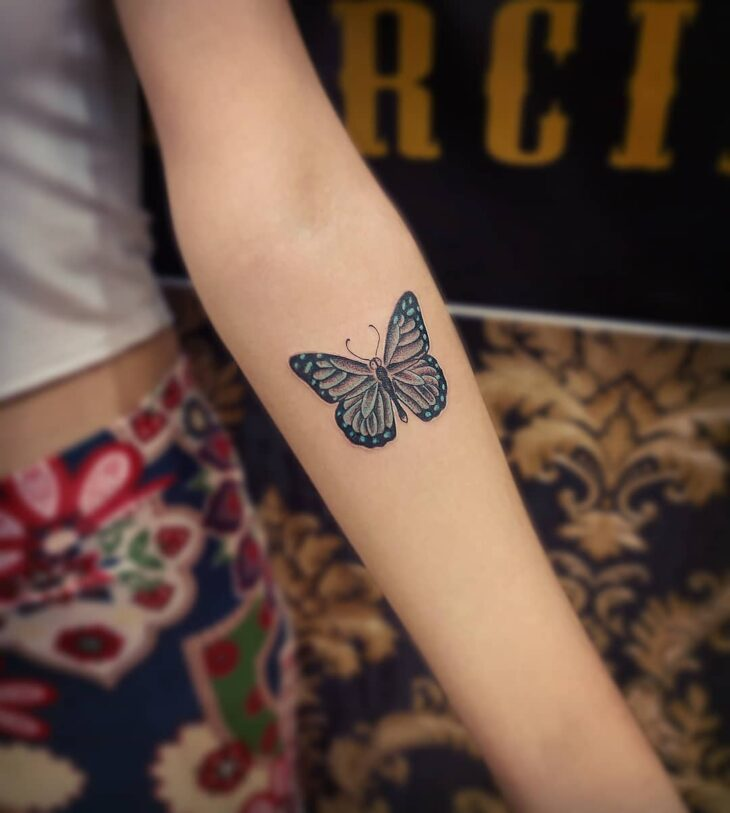 tatuagem de borboleta 69