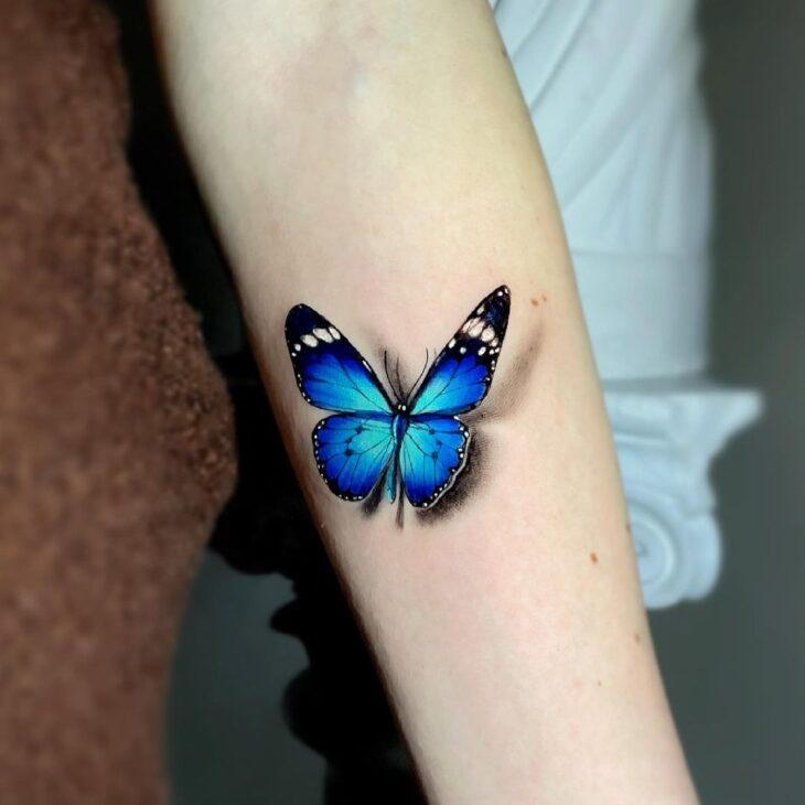 tatuagem de borboleta 72
