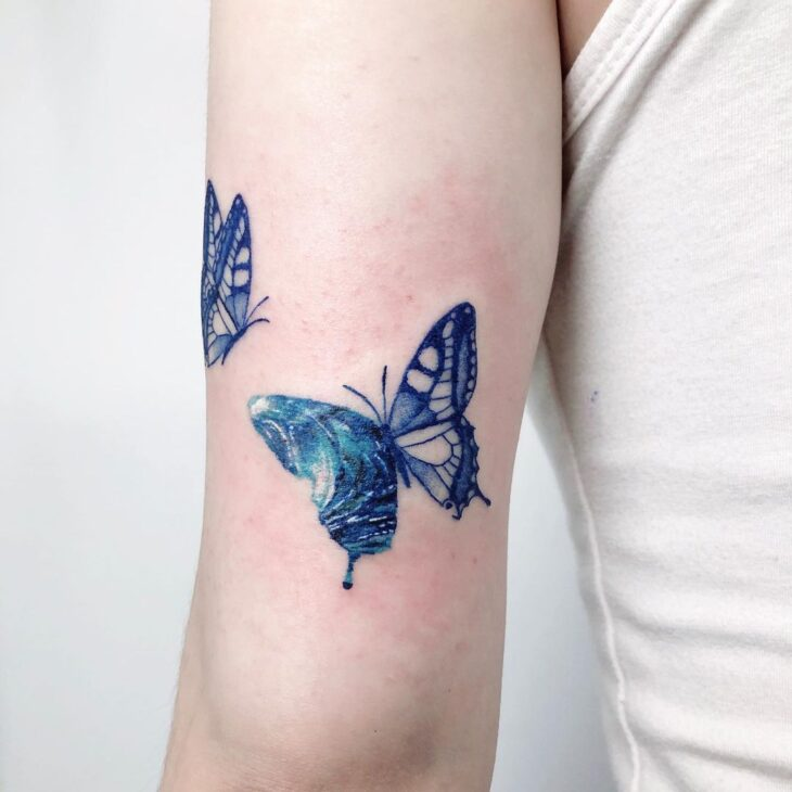 tatuagem de borboleta 75