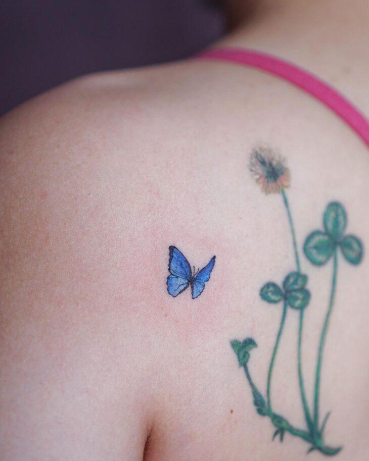 tatuagem de borboleta 76