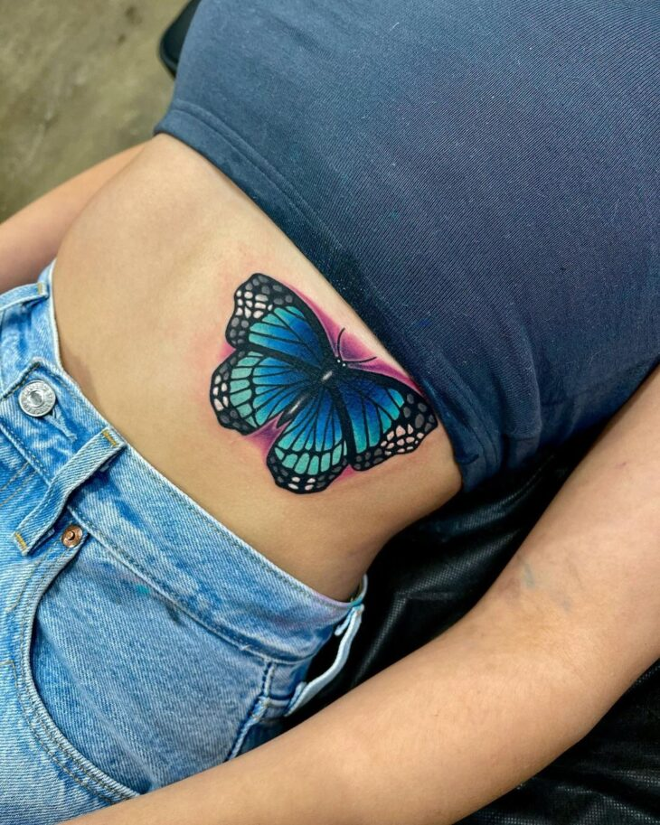 tatuagem de borboleta 77