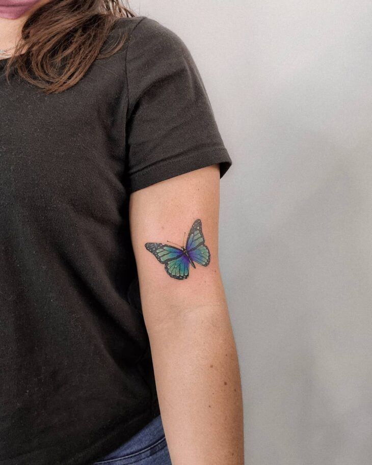 tatuagem de borboleta 79