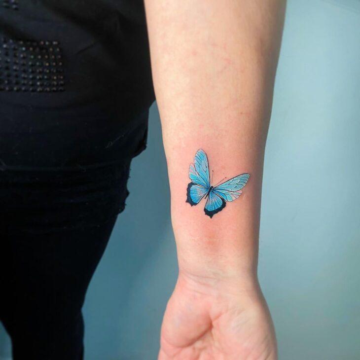 tatuagem de borboleta 81