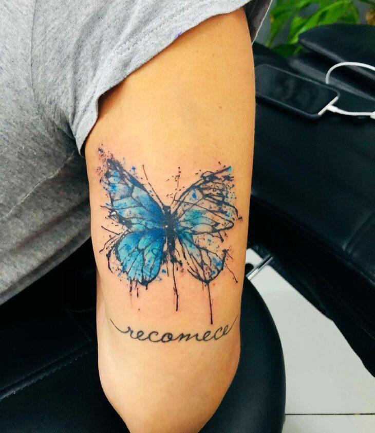 tatuagem de borboleta 82