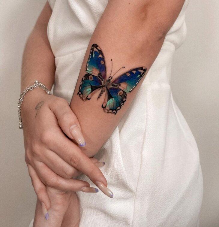 tatuagem de borboleta 84