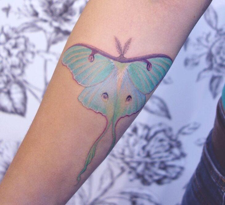 tatuagem de borboleta 85