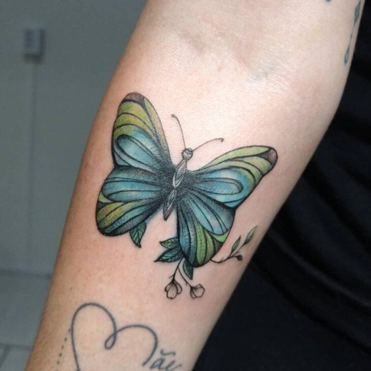 tatuagem de borboleta 87