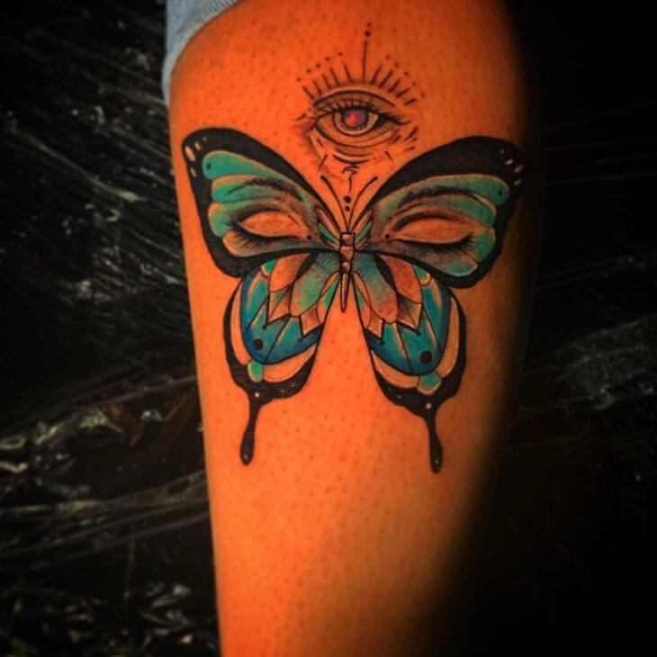 tatuagem de borboleta 88