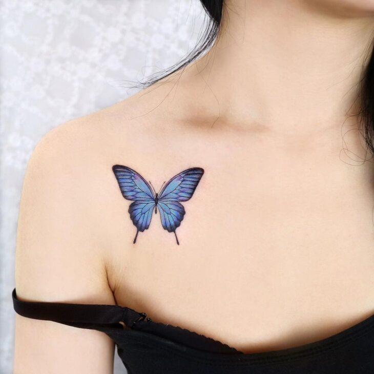 tatuagem de borboleta 94