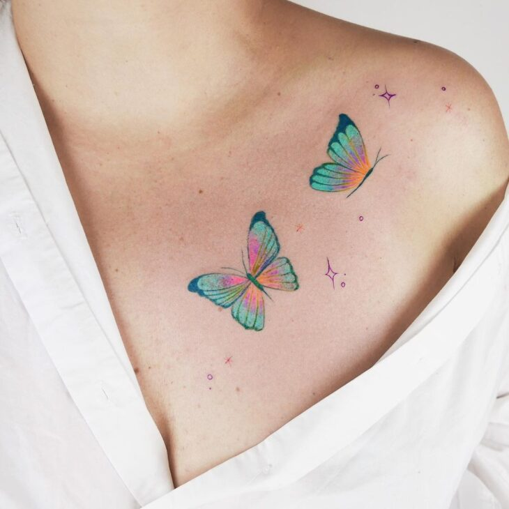tatuagem de borboleta 95