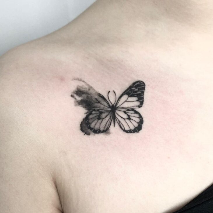 tatuagem de borboleta 97