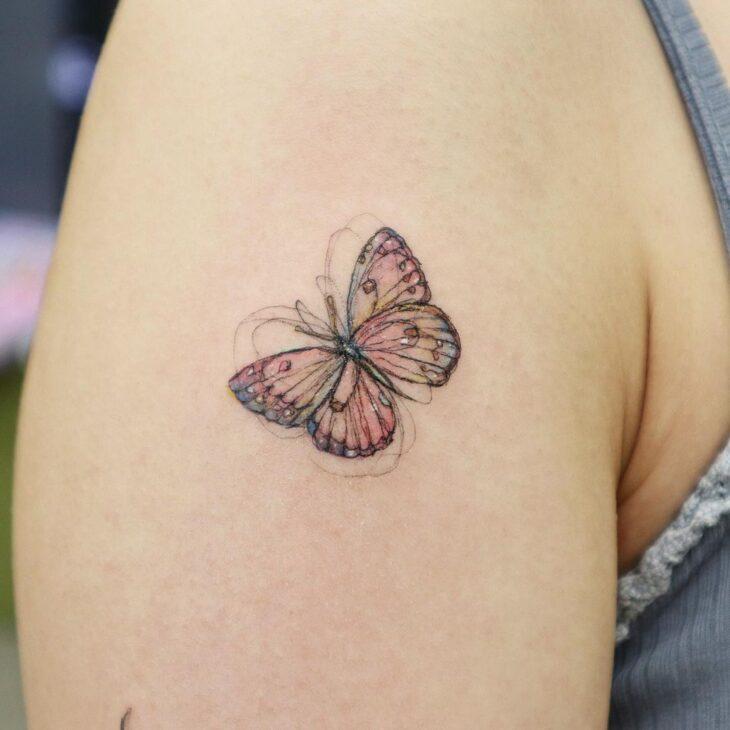 tatuagem de borboleta 98