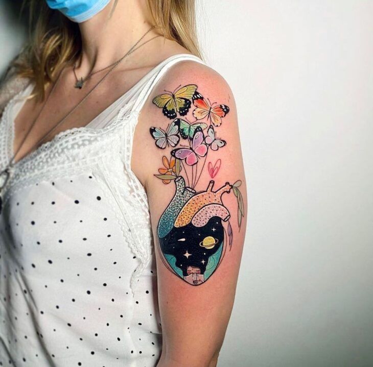 tatuagem de borboleta 99