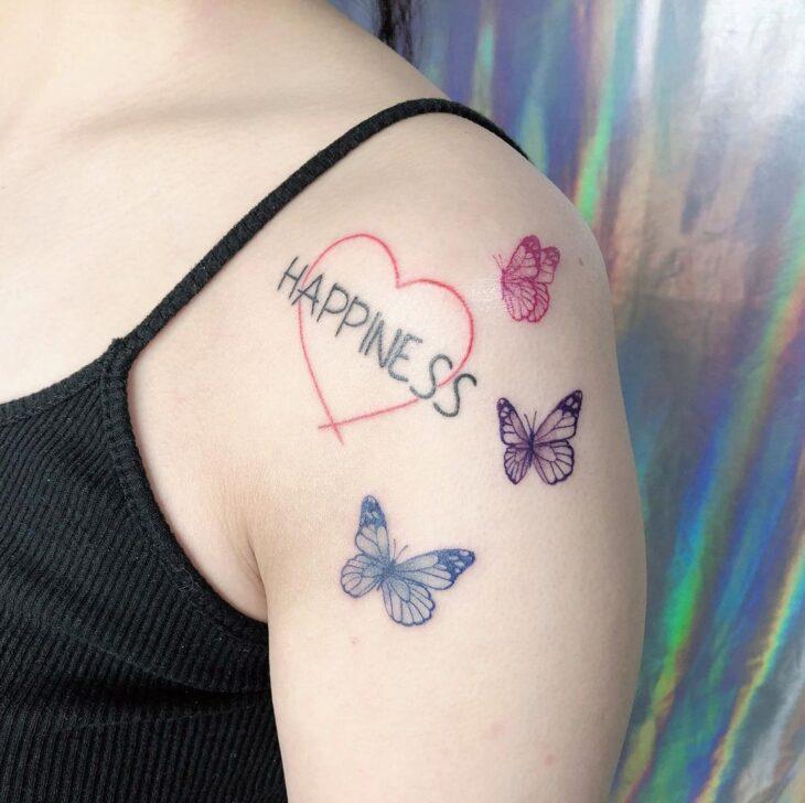 tatuagem de borboleta 100