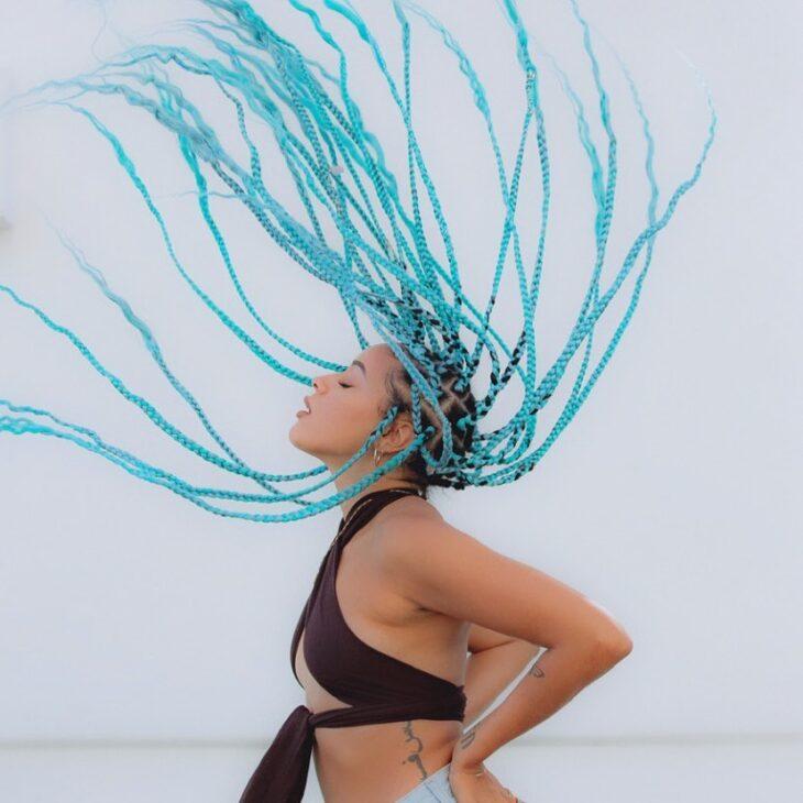 box braids azul 18