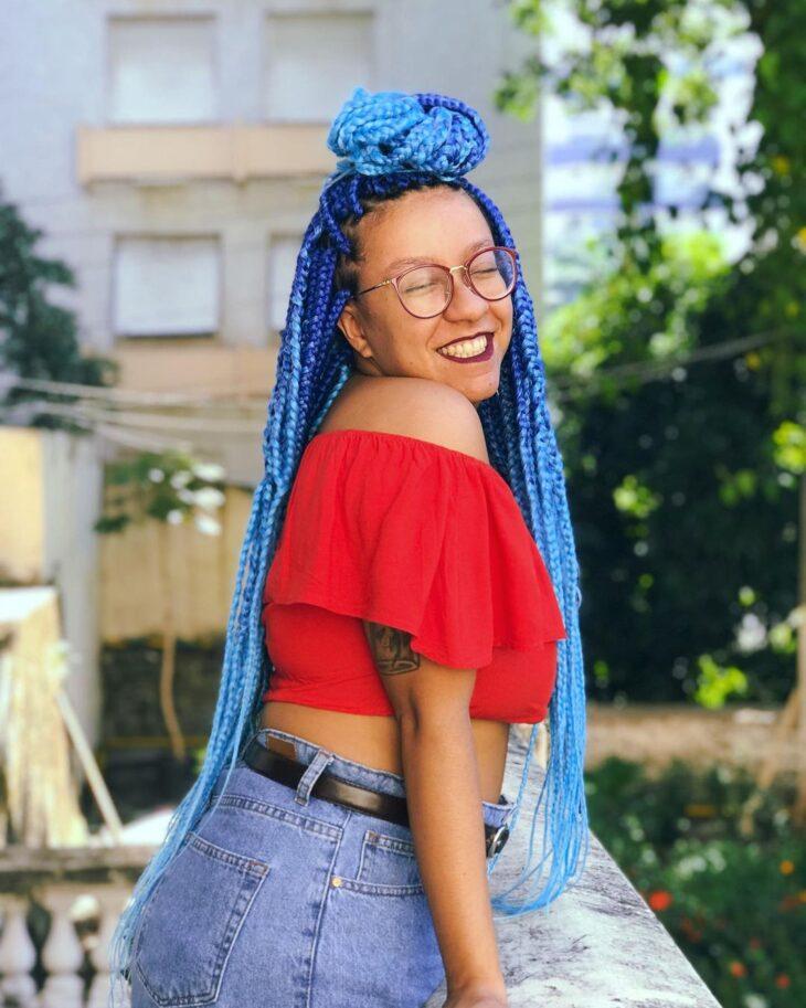 box braids azul 19
