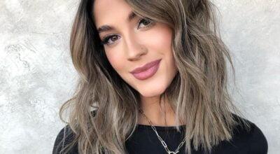 30 fotos de cabelo castanho acinzentado para realçar sua beleza