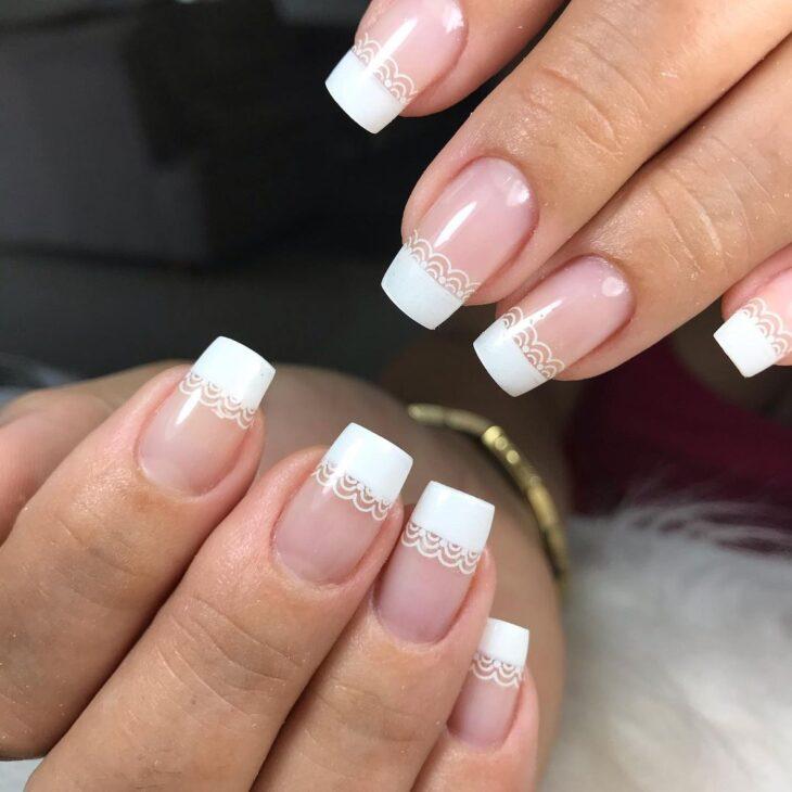 50 unhas com esmalte branco que provam a beleza desse tom clássico - 42