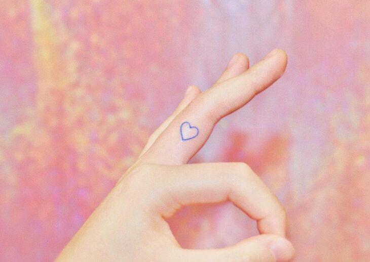 100 ideias encantadoras de tatuagem de coração para transbordar amor - 7
