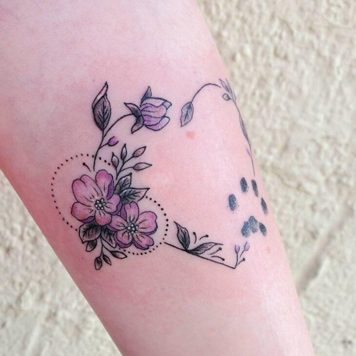 100 ideias encantadoras de tatuagem de coração para transbordar amor - 60