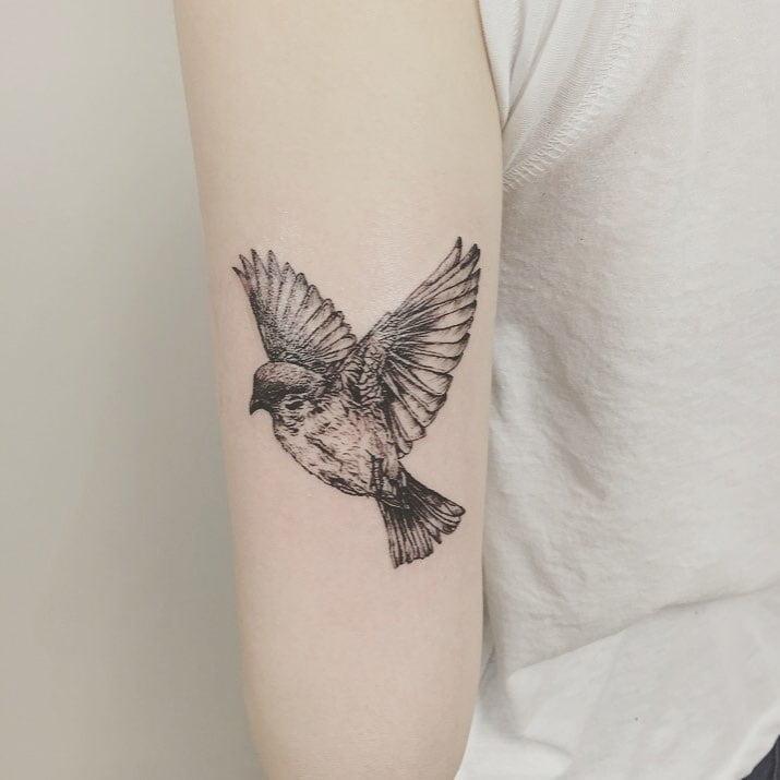 85 ideias de tatuagem de pássaros simplesmente encantadoras - 3