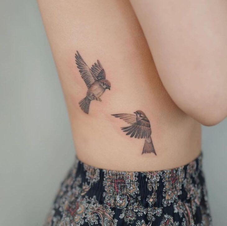 85 ideias de tatuagem de pássaros simplesmente encantadoras - 5