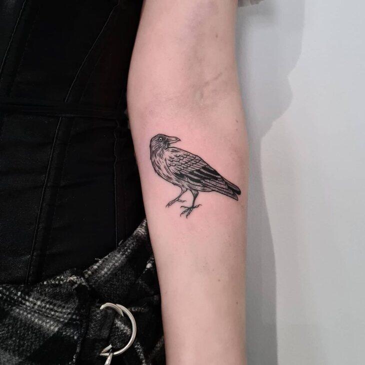 85 ideias de tatuagem de pássaros simplesmente encantadoras - 23