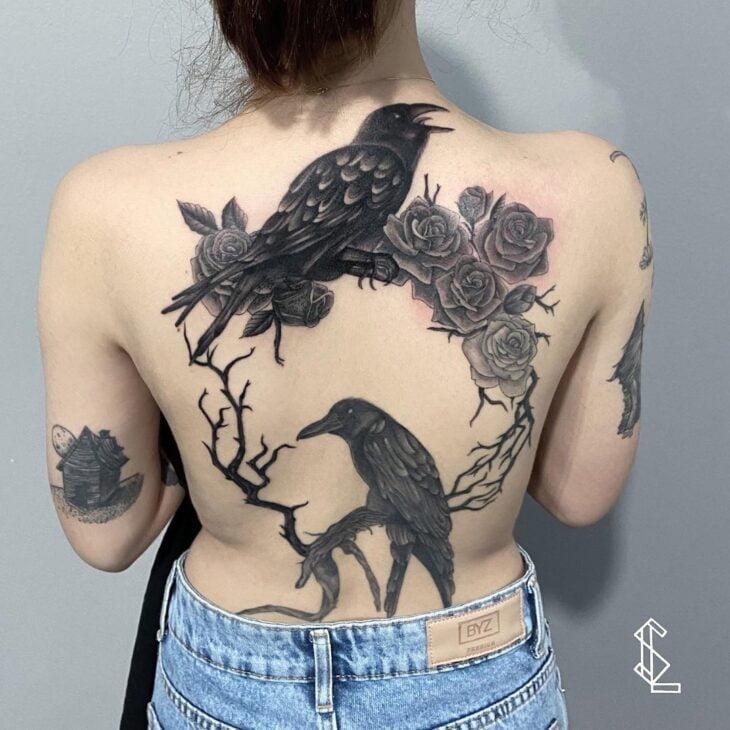 85 ideias de tatuagem de pássaros simplesmente encantadoras - 25