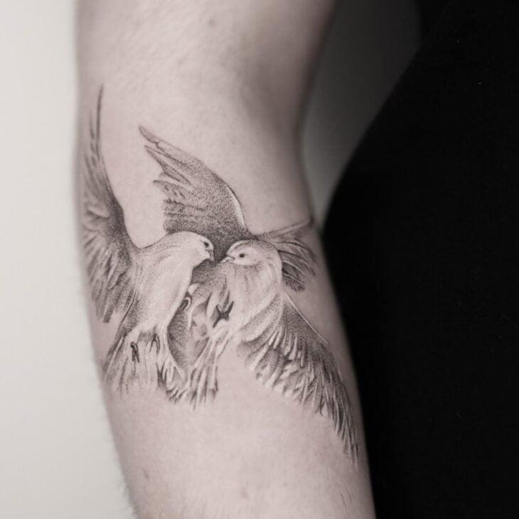 85 ideias de tatuagem de pássaros simplesmente encantadoras - 27
