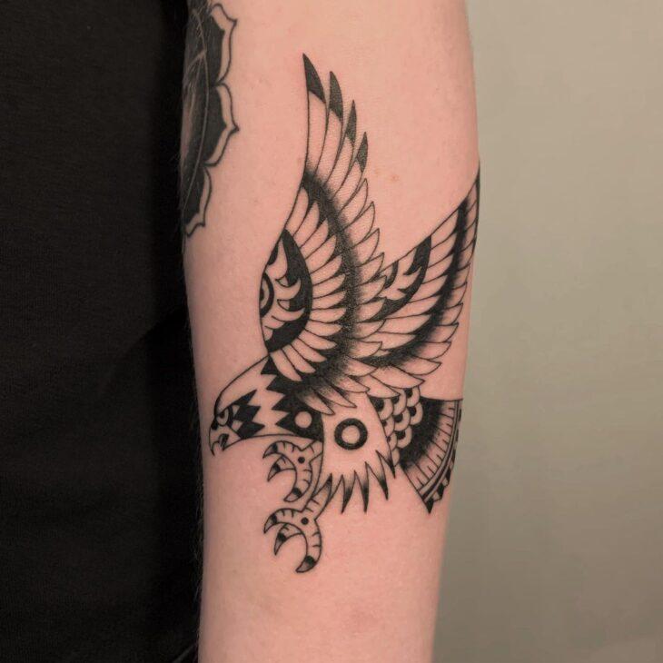 85 ideias de tatuagem de pássaros simplesmente encantadoras - 33