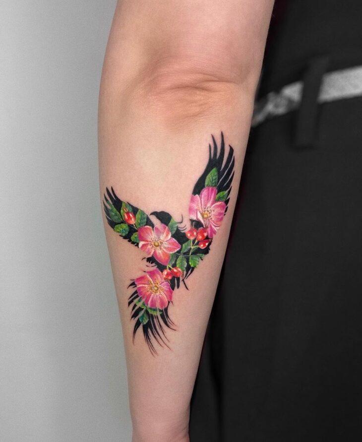 85 ideias de tatuagem de pássaros simplesmente encantadoras - 35