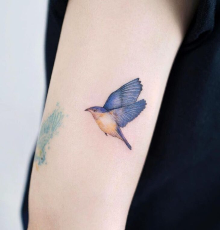 85 ideias de tatuagem de pássaros simplesmente encantadoras - 39
