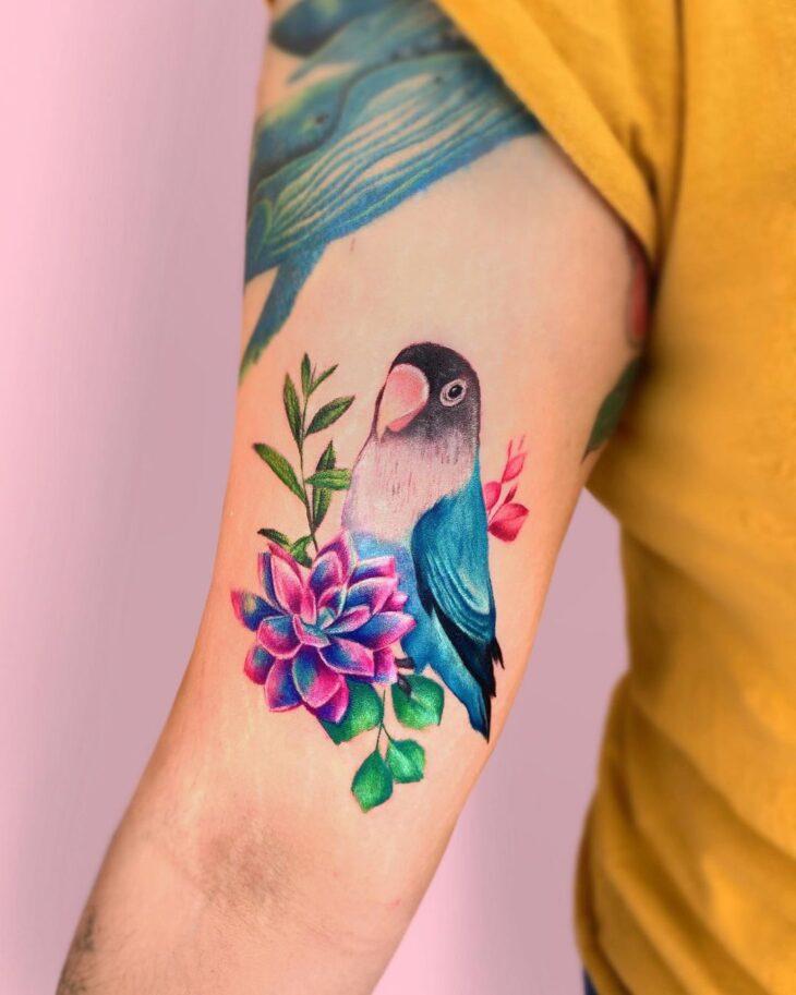 85 ideias de tatuagem de pássaros simplesmente encantadoras - 44