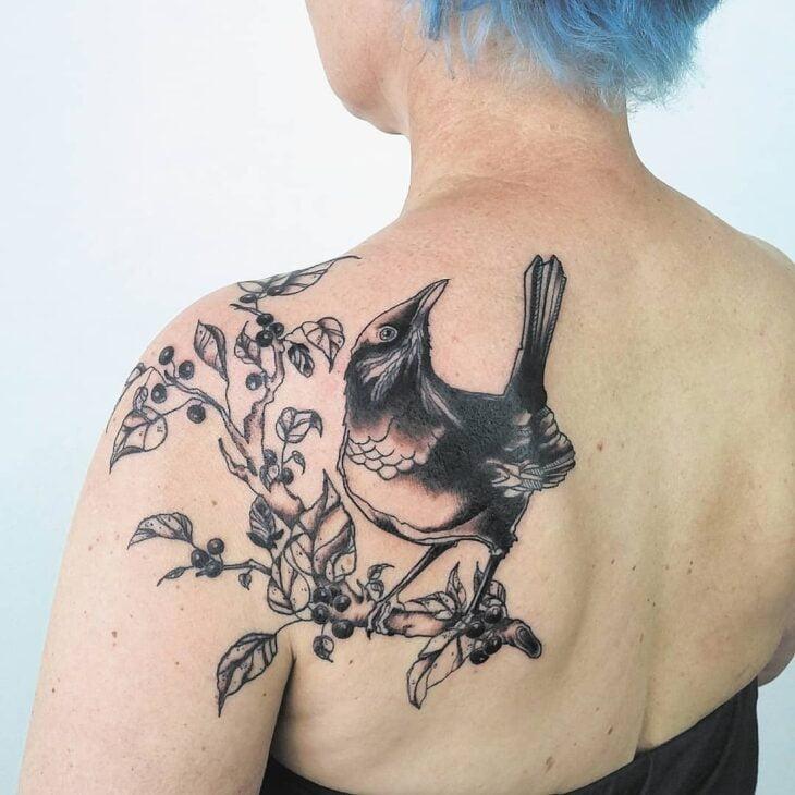 85 ideias de tatuagem de pássaros simplesmente encantadoras - 46