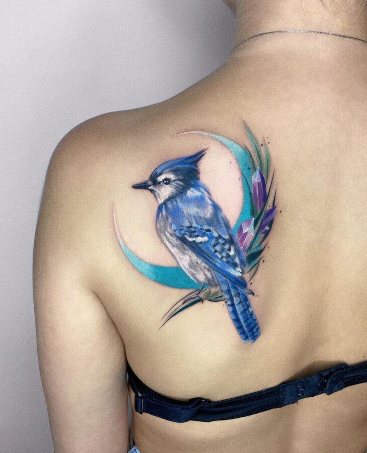 85 ideias de tatuagem de pássaros simplesmente encantadoras - 49