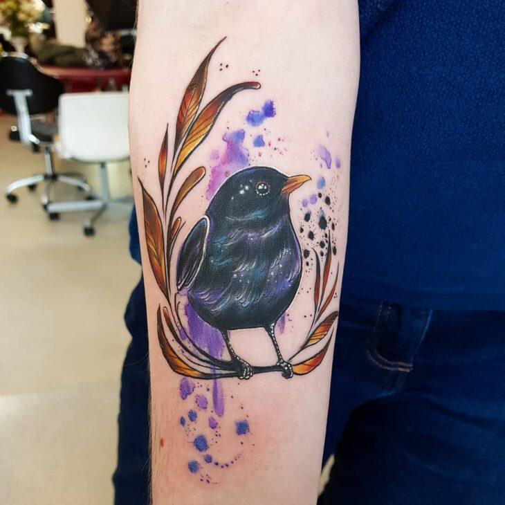 85 ideias de tatuagem de pássaros simplesmente encantadoras - 50