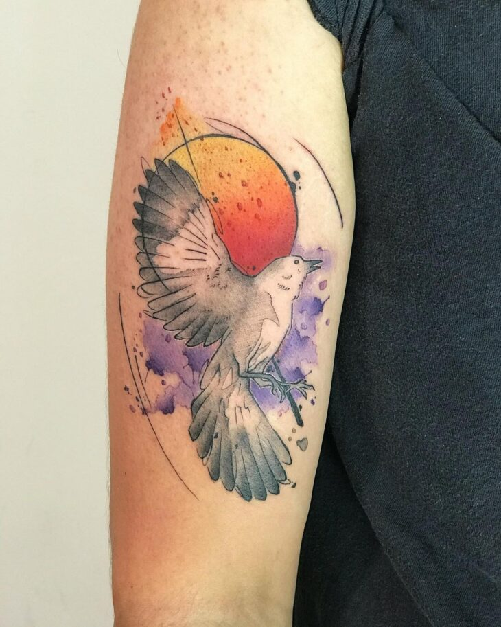 85 ideias de tatuagem de pássaros simplesmente encantadoras - 52
