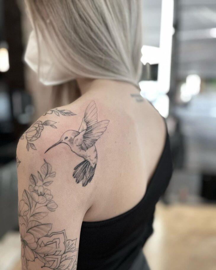 85 ideias de tatuagem de pássaros simplesmente encantadoras - 60