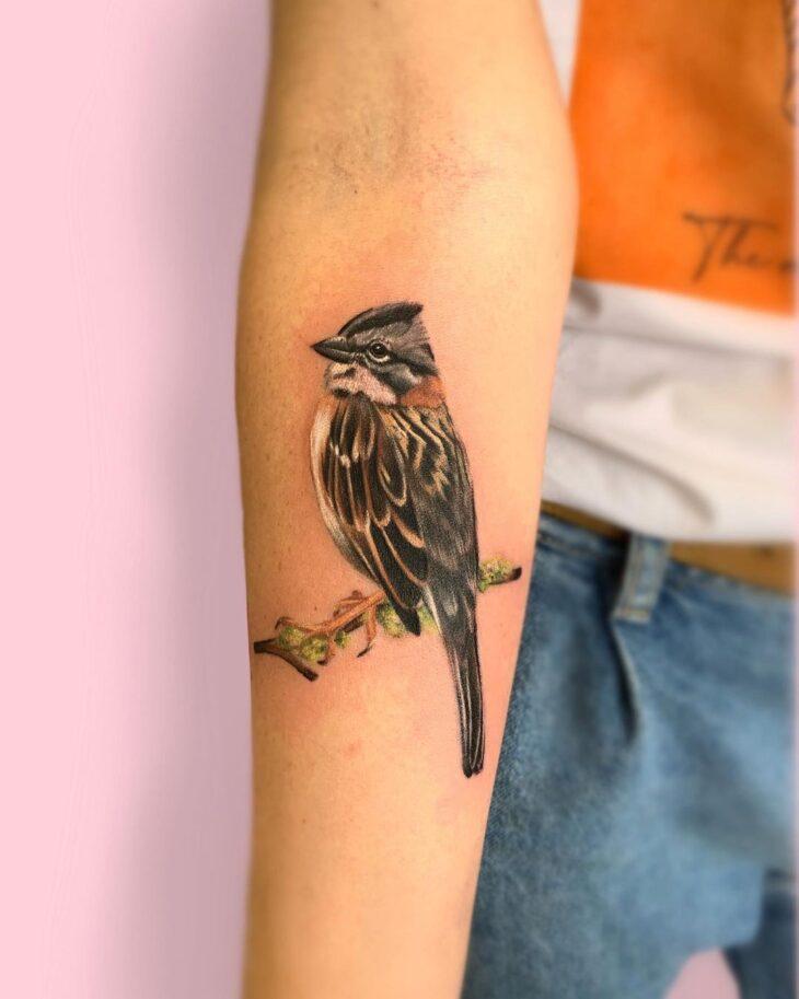 85 ideias de tatuagem de pássaros simplesmente encantadoras - 62