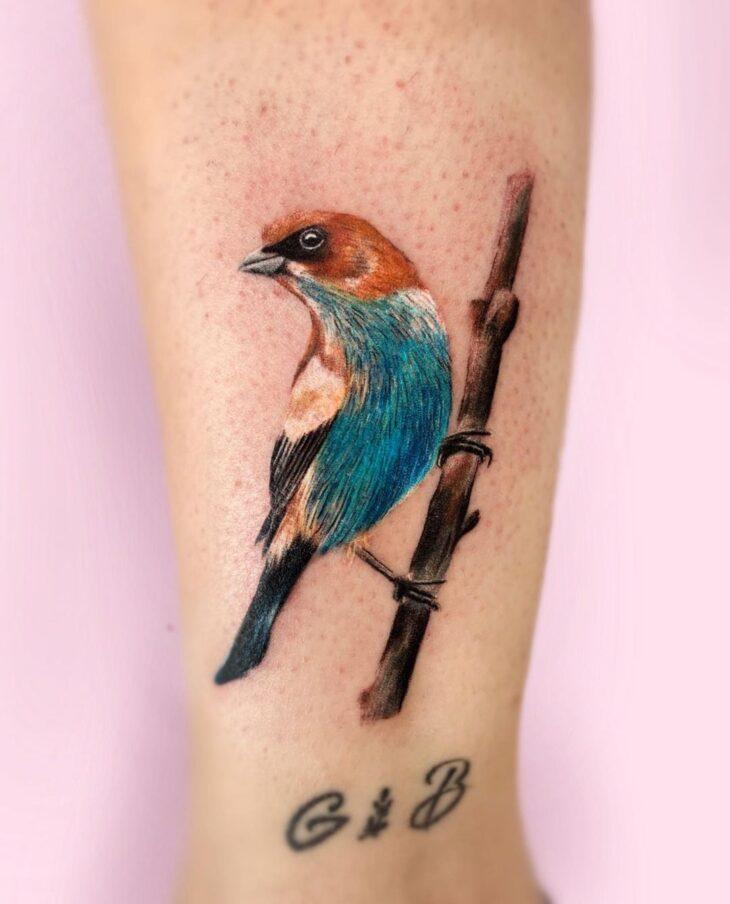 85 ideias de tatuagem de pássaros simplesmente encantadoras - 68
